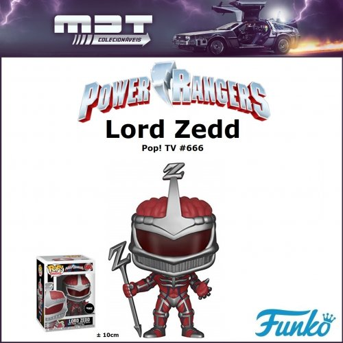 Funko Pop - Power Rangers - Lord Zedd #666
