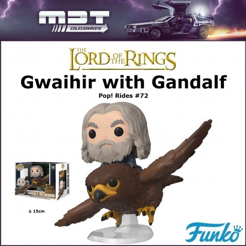 Funko Pop Rides - Lord of the Rings - Gwaihir with Gandalf #72