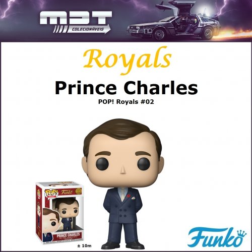 Funko Pop - Royals - Prince Charles #02