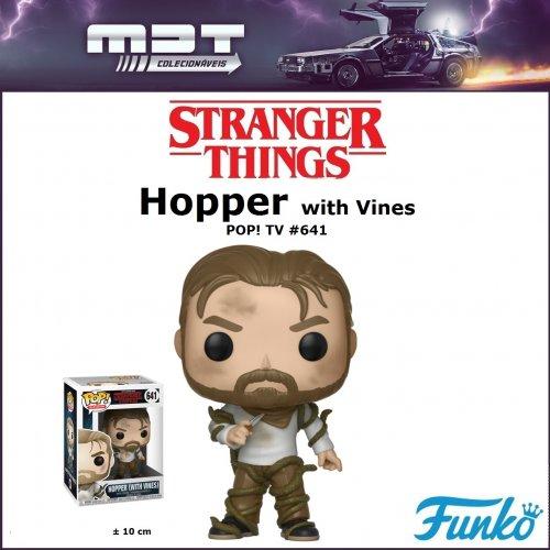 Funko Pop - Stranger Things - Hopper (with Vines) #641