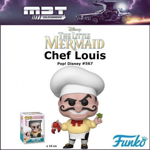 Funko Pop - The Little Mermaid - Chef Louis#567