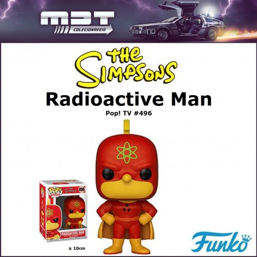 Funko Pop - The Simpsons - Homer Radioactive Man #496