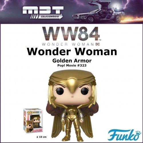 Funko Pop - Wonder Woman 1984 - WW Golden Armor #323