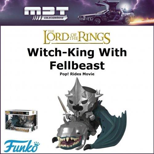 Funko PopRides- LOTR - Witch-King With Fellbeast#63