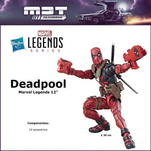 "Hasbro - Marvel Legends - Deadpool 12"""