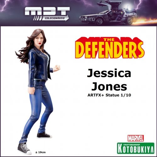 Kotobukiya - Marvel Defenders - Jessica Jones ArtFX+ Statue 1/10