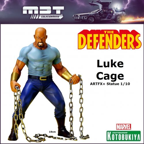 Kotobukiya - Marvel Defenders - Luke Cage ARTFX+ Statue 1/10