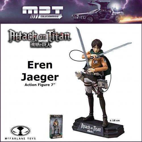 "McFarlane - Attack on Titan - Eren Jaeger 7"""