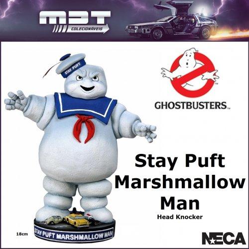 Neca – Ghostbusters - Stay Puft Marshmallow Man Head Knocker