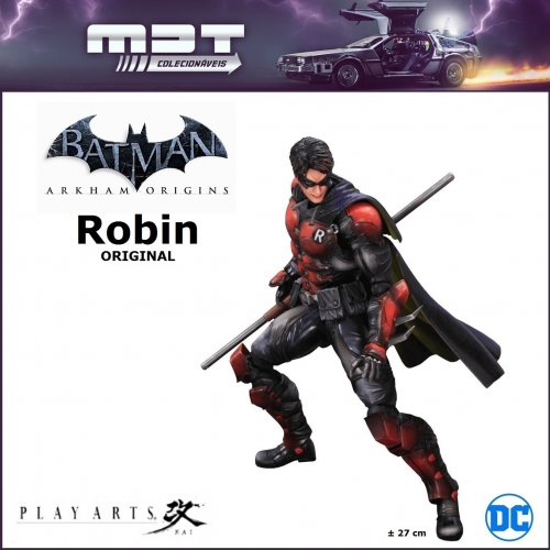 Play Arts Kai - Batman Arkham Origins - nº 3 Robin ORIGINAL