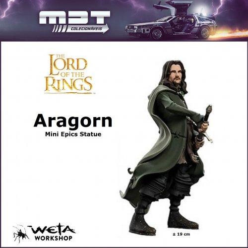 Weta - Lord of the Rings - Mini Epics Statue - Aragorn