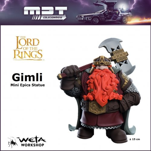 Weta - Lord of the Rings - Mini Epics Statue - Gimli