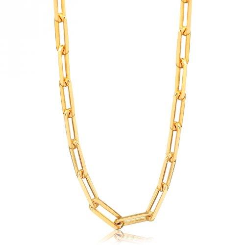 Corrente Cartier Longa Banhada a Ouro 18k