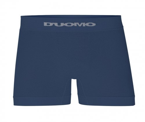 Cueca Boxer D'uomo Sem Costura Azul