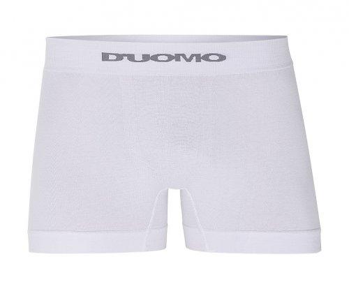 Cueca Boxer D'uomo Sem Costura Branca