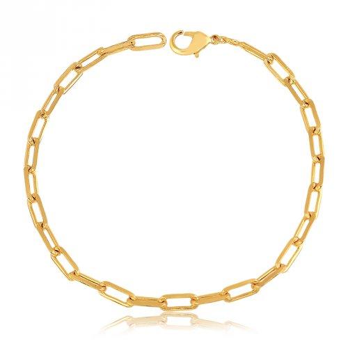 5ae834d05e9 Pulseira Cartier Banhada a Ouro 18k - Mercado Masculino