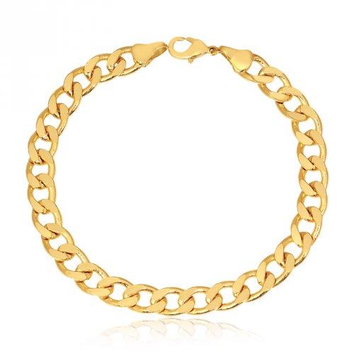 Pulseira Grumet Banhada a Ouro 18k - Mercado Masculino fd16837add