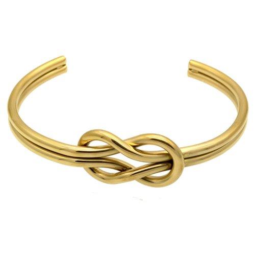 Pulseira Steel Gold Knot