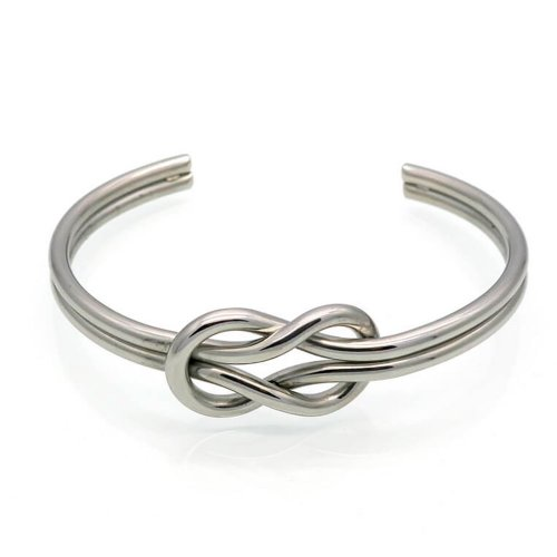 Pulseira Steel Silver Knot