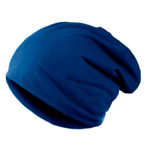 Touca de Malha Azul