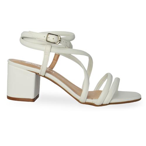 Sandália de Amarração Eloá White
