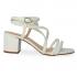 Miniatura - Sandália de Amarração Eloá White