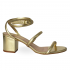 Miniatura - Sandália de Correia Eloá Gold