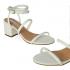 Miniatura - Sandália de Correia Eloá White