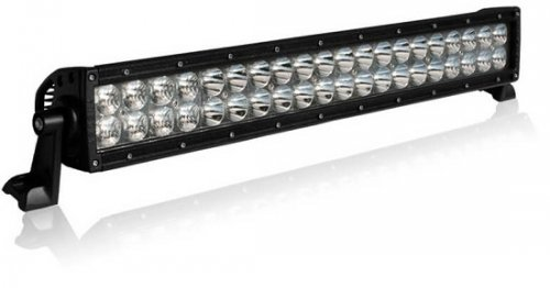 "Barra de Led Off Road Aurora Reta 20"" 51cm 200w Led CREE Combo IP68 IP69K"