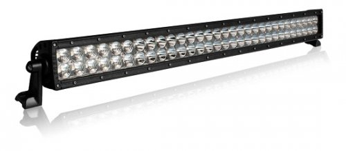 "Barra de Led Off Road Aurora Reta 40"" 102cm 400w Led CREE Combo IP68 IP69K"
