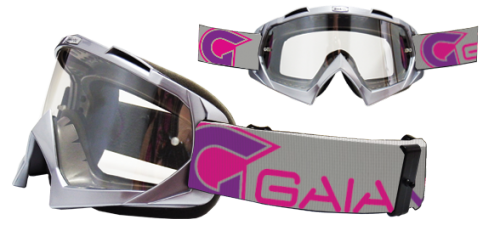 Óculos Gaia MX Radical Purple Com Lente Anti Embaçante