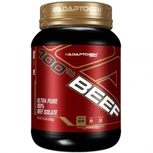 100% Beef Isolate Protein 909g - Adaptogen Science