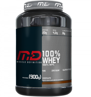100% Whey Protein 900g MD - Muscle Definition
