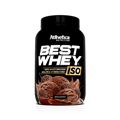 Best Whey Protein Isolado 900g - Atlhetica Nutrition