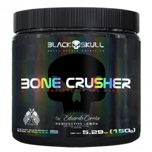 Bone Crusher (150g) - Black Skull by Eduardo Corrêa