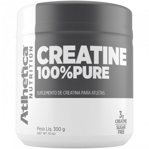 Creatina 100% Pure 300g - Atlhetica Nutrition