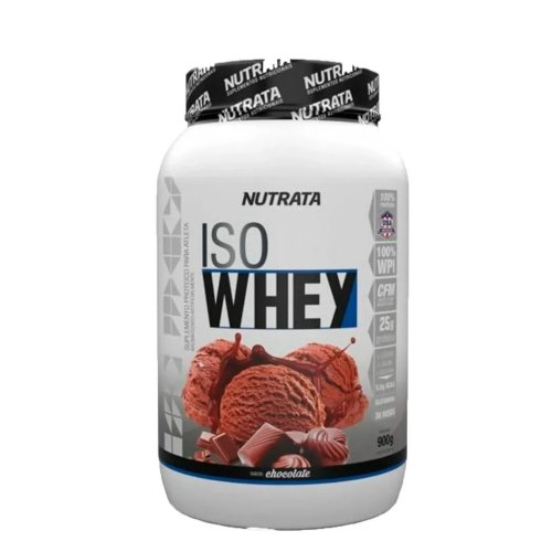 Iso Whey Protein 900g - Nutrata