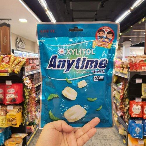 Lotte Bala Anytime Milk Mint 92g