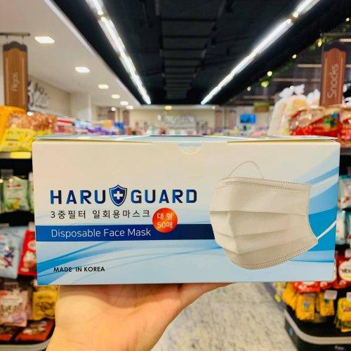 Máscara de Proteção Coreana Haru Guard 50un