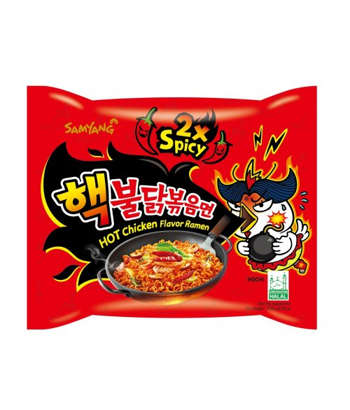 Hot Chicken Ramen - 2x Spicy Extreme 140g
