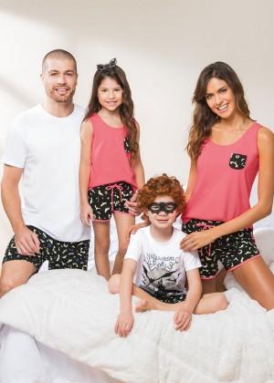 f45d9a880 Pijama feminino aberto frontal - Pijamas Lua Cheia SBC