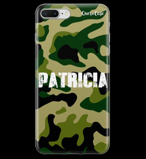 Army Camouflage Translúcido Com Seu Nome