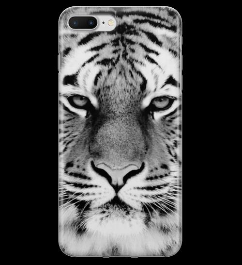 Tigre em Preto e Branco