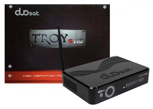 Receptor Duosat Troy S HD / Wi-Fi / IKS-SKS-IPTV / Ondemand - ACM