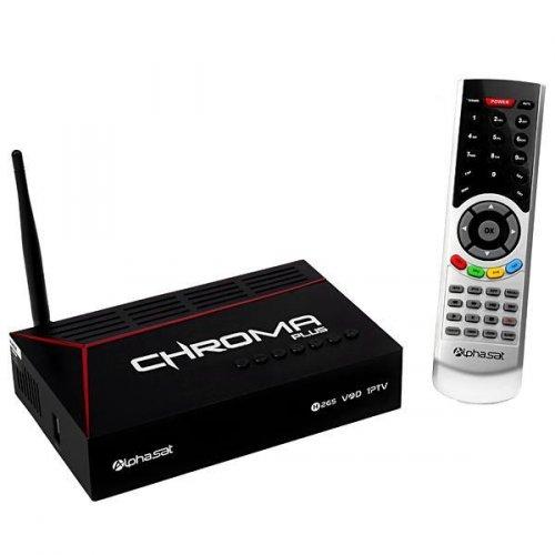 Receptor Alphasat Chroma Plus / IKS-SKS-IPTV / Wi-Fi / ACM - MEGA PROMOÇÃO!