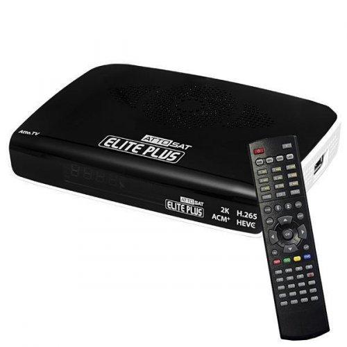 Receptor Atto Sat Elite Plus / H.265 / Wi Fi / IPTV IKS SKS - ACM