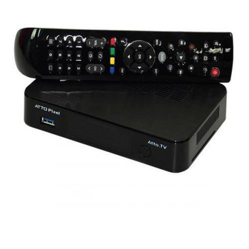 Receptor TV ATTO Pixel + PLUS Ultra HD 4K / CABO