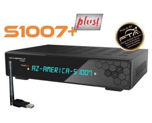 Receptor Azamerica S-1007+ Plus / WI-FI / IKS-SKS-IPTV / ACM - MEGA PROMOÇÃO!