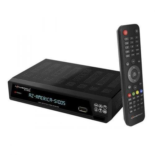 Receptor Azamerica s1005 / WI-FI / IKS-SKS-IPTV