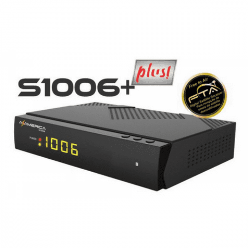 Receptor Azamerica s1006 + Plus / WI-FI / IKS-SKS-IPTV / ACM
